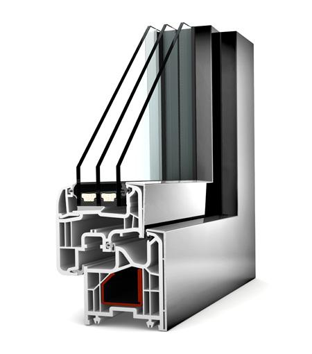 Internorm fenêtre KF200 pvc alu