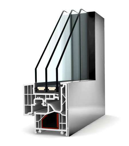 Internorm fenêtre KF220 PVC alu