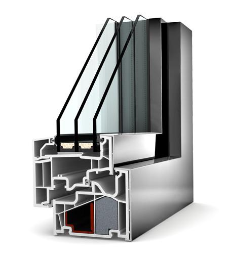 Internorm fenêtre KF410 pvc alu