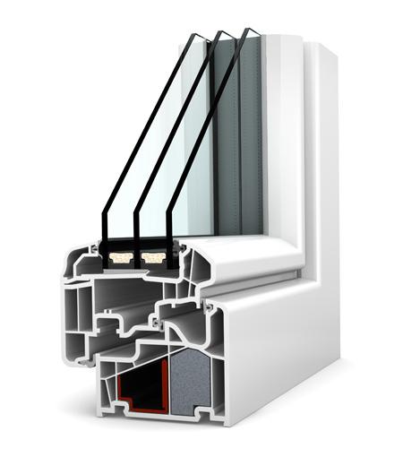 Internorm fenêtre KF410 PVC