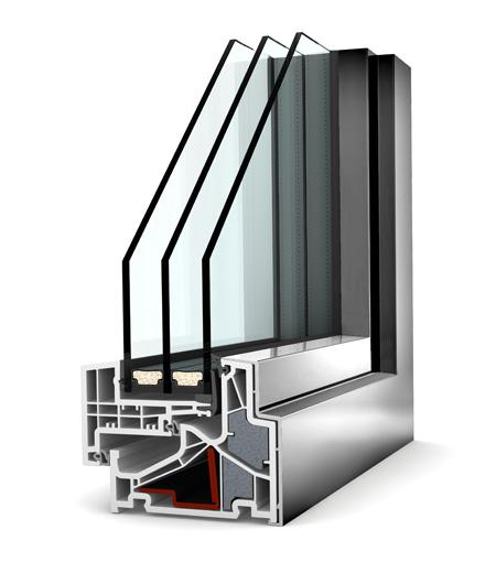 Internorm fenêtre KF500 pvc alu