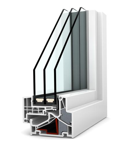 Internorm fenêtre KF500 PVC
