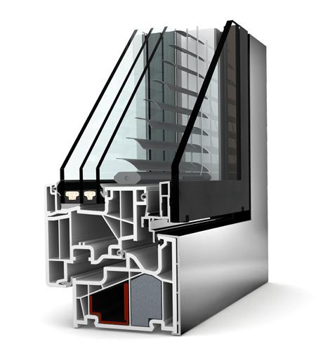 Internorm fenêtre KV440 PVC alu